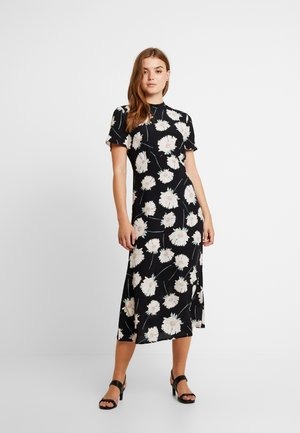 MIA FLORAL DRESS - Robe d'été - black