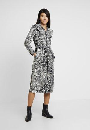 SHADOW ANIMAL UTILITY SHIRT DRESS - Blusenkleid - black