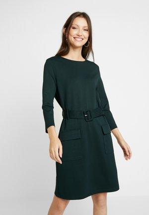 UTILITY BELTED PONTE DRESS - Jersey dress - green