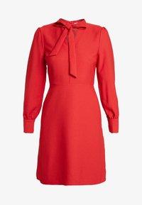 Warehouse - BOW DRESS - Denní šaty - red - 4