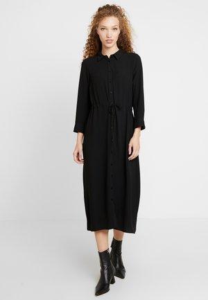 UTILITY - Shirt dress - black
