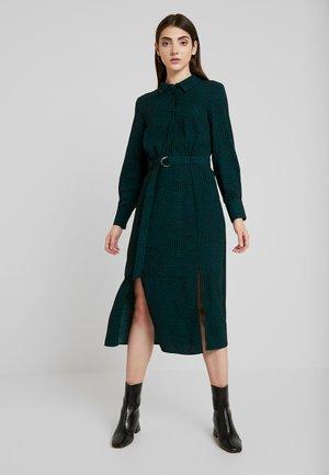 PRINT SHIRT DRESS - Shirt dress - green mix