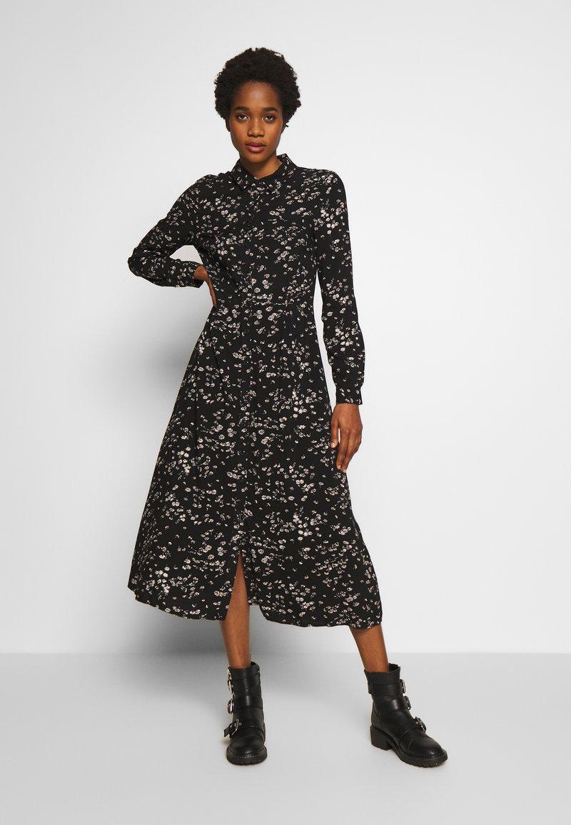 Warehouse - DAISY MIDI SHIRT DRESS - Skjortekjole - multi