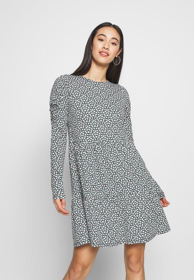 DITSY FLORAL TIERED DRESS - Trikoomekko - multi