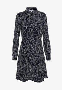 Warehouse - KIKA MOVEMENT MINI DRESS - Shirt dress - black - 4