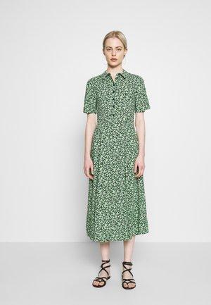 DITSY MIDI DRESS - Skjortekjole - green