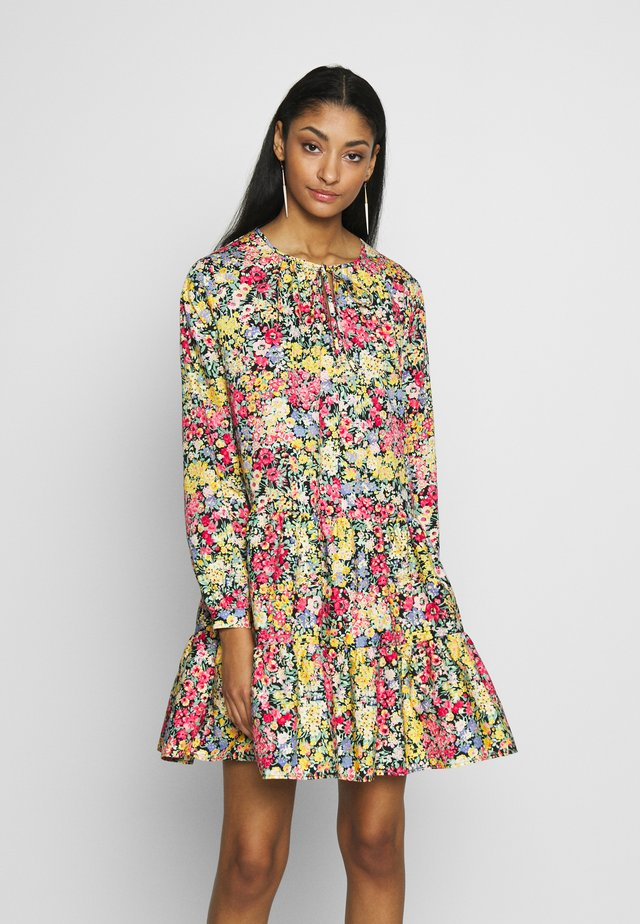 SOPHIA FLORAL TIERED MINI DRESS - Day dress - multi