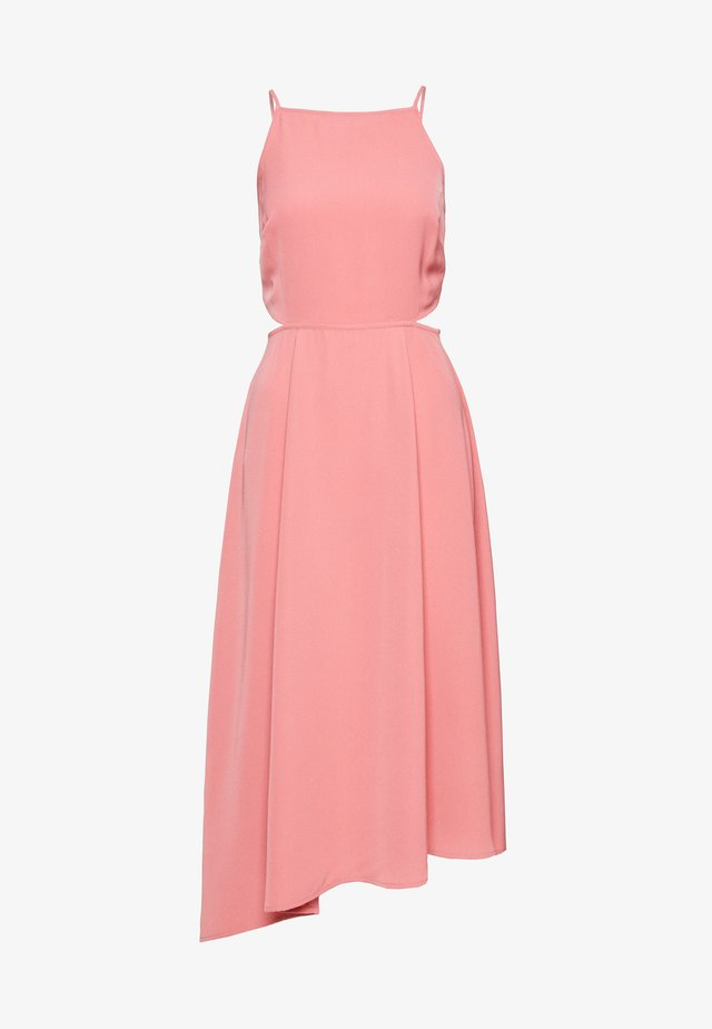 OPEN BACK DRESS - Freizeitkleid - pink