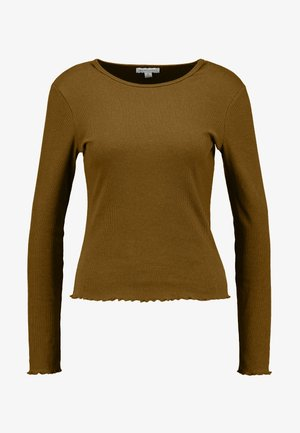 LETTUCE LONG SLEEVE - Camiseta de manga larga - khaki