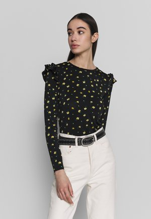 LITTLE BUD FLORAL FRILL SLEEVE  - Long sleeved top - multi