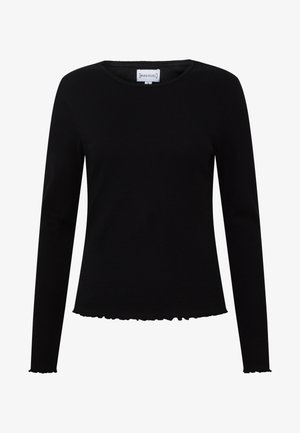 LETTUCE LONG SLEEVE TOP - Longsleeve - black