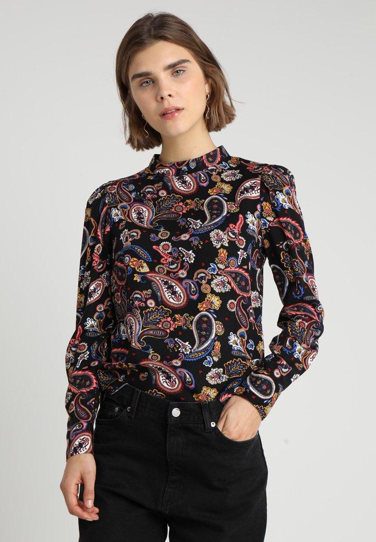 Warehouse - PAISLEY HIGH NECK - Blouse - multicolor