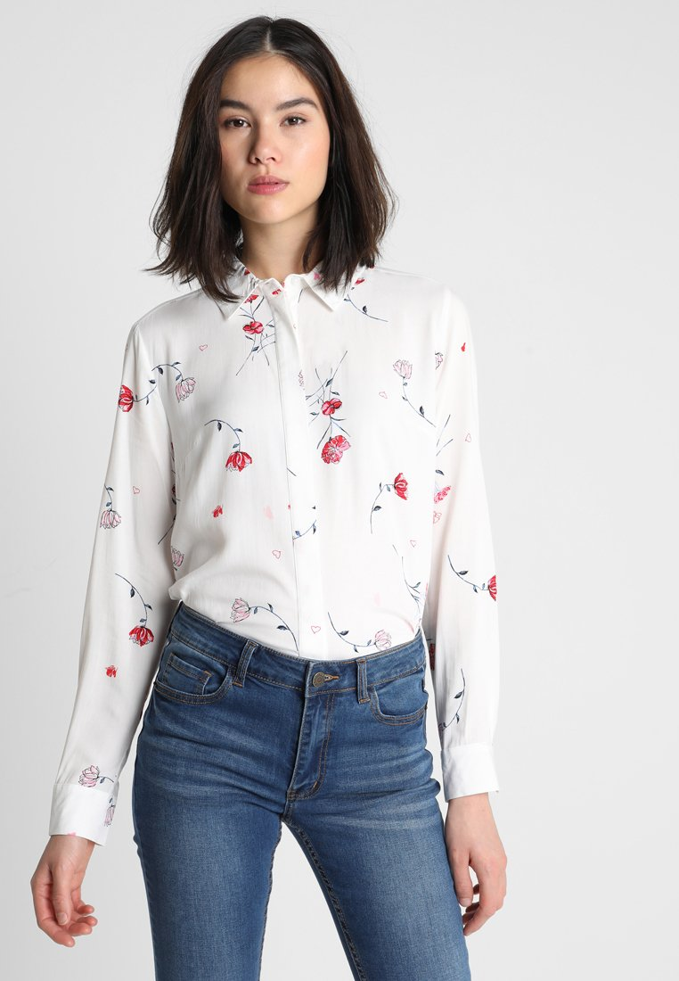Warehouse - DREE FLORAL  - Chemisier - ivory