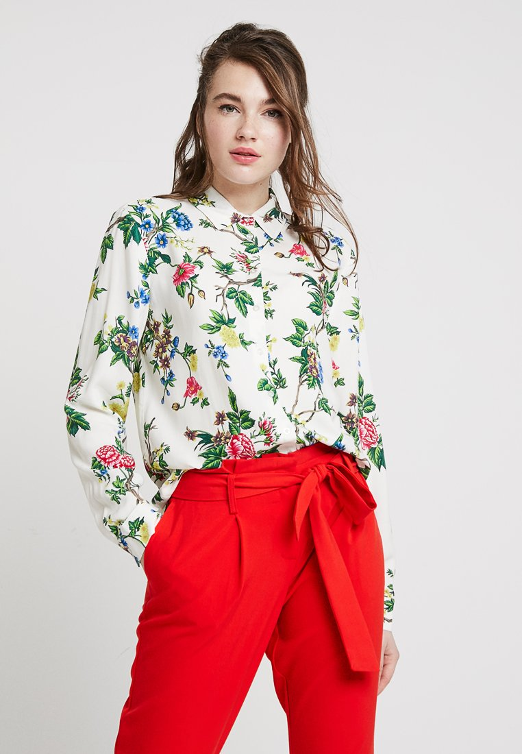 Warehouse - VERITY FLORAL - Overhemdblouse - ivory