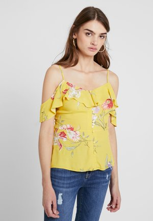 IRIS FLORAL - Bluse - yellow