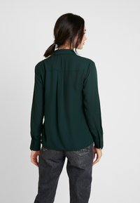 Warehouse - UTILITY LAPEL - Skjortebluser - dark green - 2
