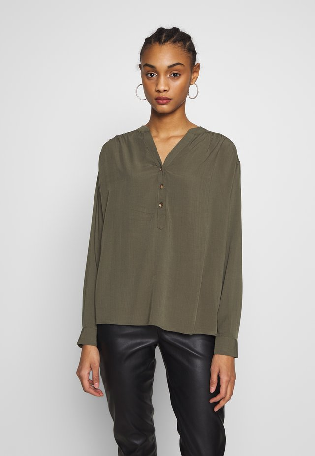 OVER THE HEAD - Bluse - khaki
