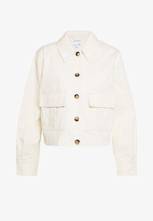 POCKET SHACKET - Summer jacket - ivory