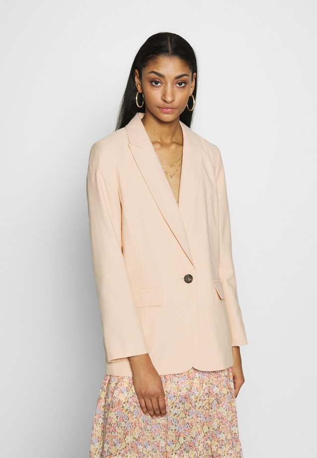 RELAXED BLAZER - Bleiseri - buttermilk