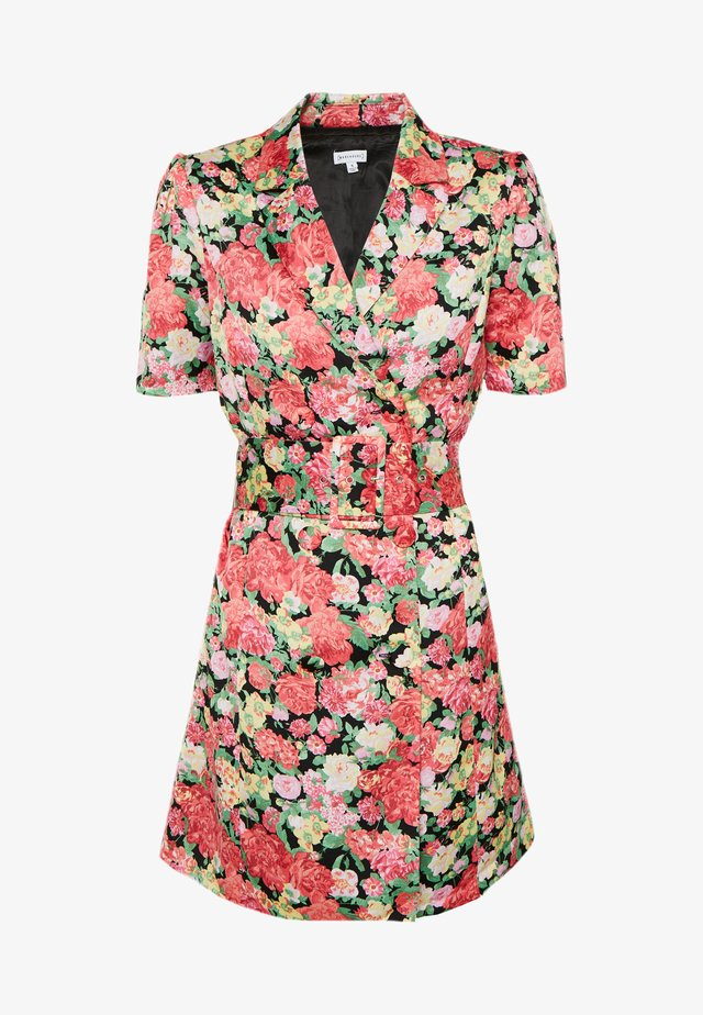 FLORAL BLAZER DRESS - Blousejurk - pink