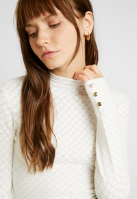 Warehouse - WAVE POINTELLE JUMPER - Trui - ivory - 4