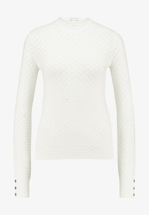 WAVE POINTELLE JUMPER - Trui - ivory