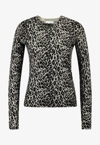 Warehouse - ANIMAL PRINT - Jumper - grey - 3