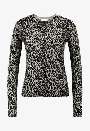 ANIMAL PRINT - Pullover - grey
