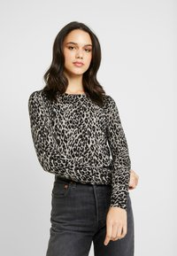 Warehouse - ANIMAL PRINT - Jumper - grey - 0