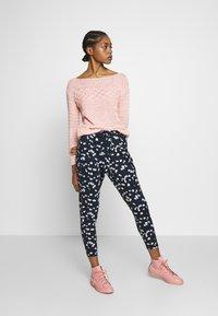 Warehouse - MIXED STITCH JUMPER - Sweter - pink - 1