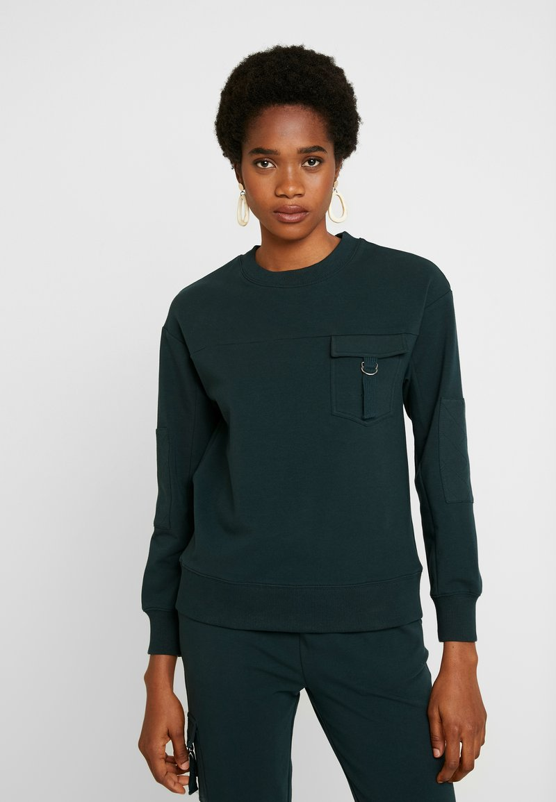 Warehouse - UTILITY - Sweatshirt - green