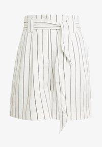 Warehouse - STRIPE CITY - Shorts - white/black - 3