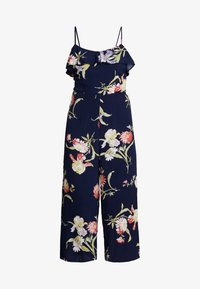 Warehouse - FLORAL - Overal - navy - 5