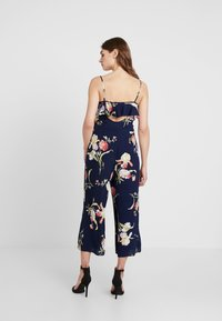 Warehouse - FLORAL - Overal - navy - 2