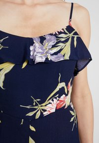 Warehouse - FLORAL - Overal - navy - 6