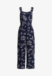 Warehouse - ALOHA PRINT - Jumpsuit - navy - 5