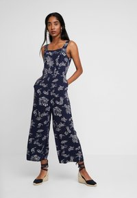 Warehouse - ALOHA PRINT - Jumpsuit - navy - 0