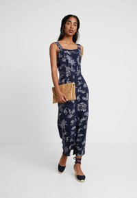 Warehouse - ALOHA PRINT - Jumpsuit - navy - 2