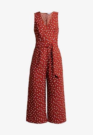 SPOT  - Overall / Jumpsuit /Buksedragter - rusy/ivory
