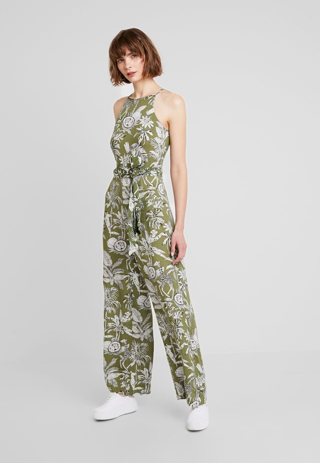 JUNGLE PRINT - Jumpsuit - khaki