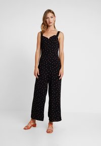 Warehouse - SPOT RUFFLE - Overal - black - 0