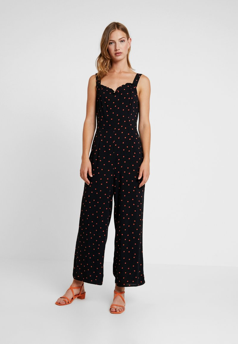 Warehouse - SPOT RUFFLE - Overal - black