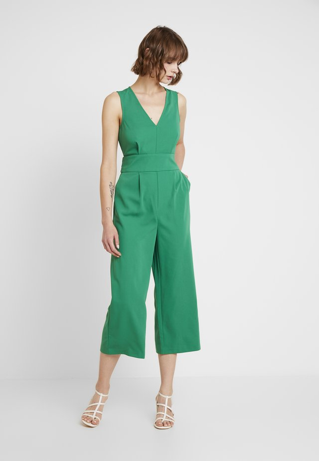 V NECK - Jumpsuit - green