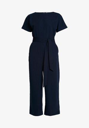 SLASH NECK - Jumpsuit - navy