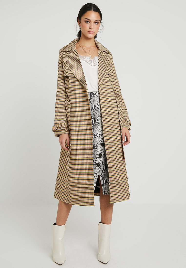 Warehouse - CLEAN CHECK - Trenchcoat - multi