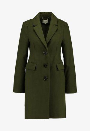 SINGLE BREASTED COAT - Płaszcz wełniany /Płaszcz klasyczny - khaki
