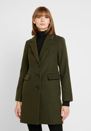 SINGLE BREASTED COAT - Zimní kabát - khaki