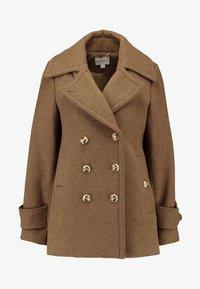 Warehouse - SHORT COAT - Classic coat - khaki - 3