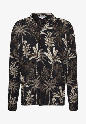 LONG SLEEVE BOTANICAL - Skjorte - black