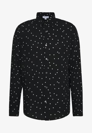 LONG SLEEVE POLKA DOT - Chemise - black